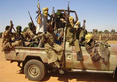 Armée Soudanaise / Sudanese Armed Forces ( SAF ) Rebelschad