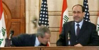 IRAQ/BUSH-SHOE
