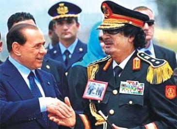 Gaddafi in Italy