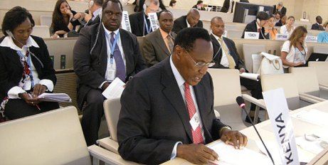 Saitoti in Geneva