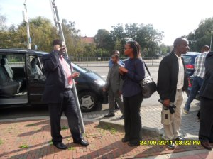 African Press International Photo: Kenyans on Day 4 at the ICC to give moral support to Uhuru, Muthaura and Ali