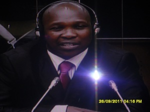 African Press International photo: Lucas, the District Commissioner testify at the ICC in Muthaura's case