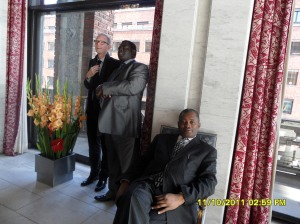 African Press International photo: Kenya delegation on study tour in Norway: Inside Oslo City Hall 11.October 2011 photo 4