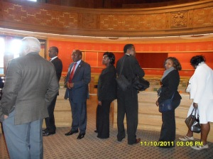 African Press International photo: Kenya delegation on study tour in Norway: Inside Oslo City Hall 11.October 2011 photo 11