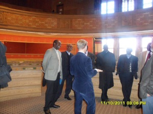 African Press International photo: Kenya delegation on study tour in Norway: Inside Oslo City Hall 11.October 2011 photo 12