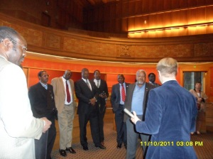 African Press International photo: Kenya delegation on study tour in Norway: Inside Oslo City Hall 11.October 2011 photo 13