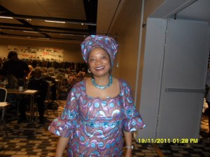 www.africanpress.me - PAWA President in Norway at the conference during the signing of Fatwa Against Female Genital Mutilation in Clarion Hotel Royal Christiania in Oslo, Norway on the 19th November 2011