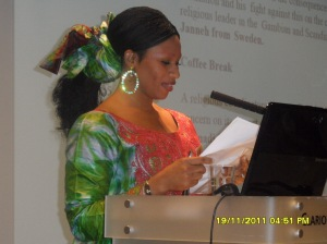 www.africanpress.me. MKBK member - FGM conference moderator morning session Oslo 19.11.2011