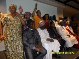 www.africanpress.me photo: Delegates take time for free photo opportunity with African Press International at the end of FGM Conference: Oslo 19.11.2011