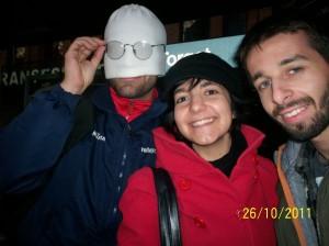 www.africanpress.me/ Claudio (left), Antonella Straullu, and Dejan while in Trondheim - Norway as EVS volunteers