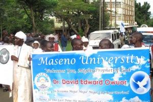 Kenya: PROPHET OWUOR'S VISIT TO KISUMU