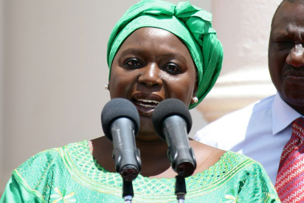www.africanpress.me/ Amb Raychelle Omamo (Defence)