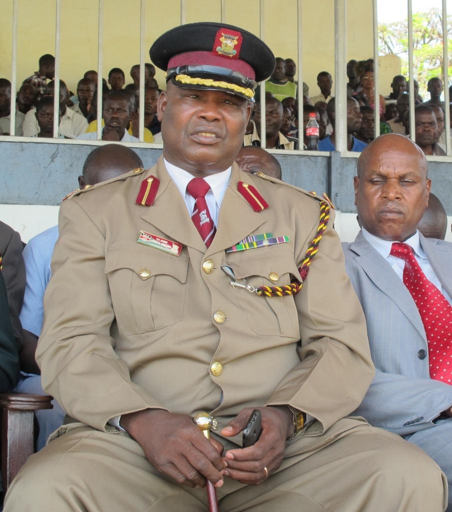 www.africanpress.me/ Nyanza Administration Police Commander James Mwaniki