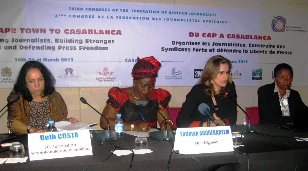 www.africanpress.me/ - A panel discussion on improving Gender parity in the Media in Africa during the Congress