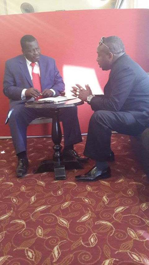 www.africanpress.me/ Senator Sonko and KNUT Secretary General Nzili negotiating