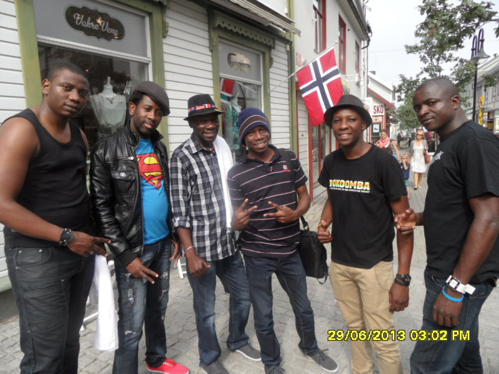 www.africanpress.me/ - Mokoomba Band members from Zimbabwe at the Arts Festival of North Norway 2013